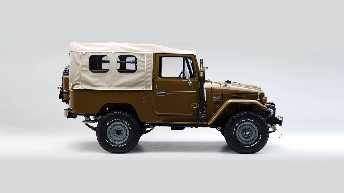 Toyota Land Cruiser 1981 lateral