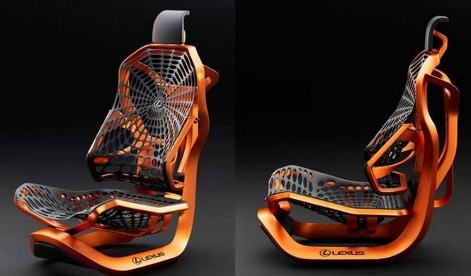 Así son los revolucionarios asientos Lexus Kinetic Concept