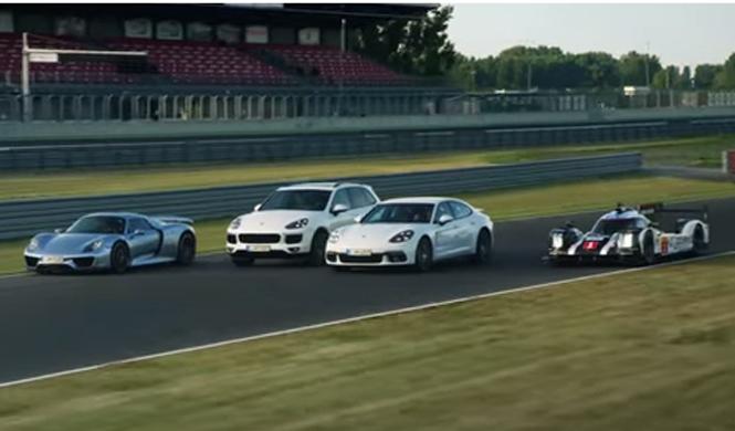 Vídeo: Porsche presume de coches híbridos y eléctricos