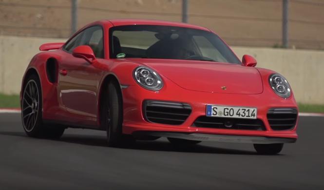 Vídeo: Chris Harris, a los mandos del Porsche 911 Turbo S