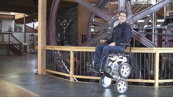 Así es iBot, la silla de ruedas todoterreno de Toyota