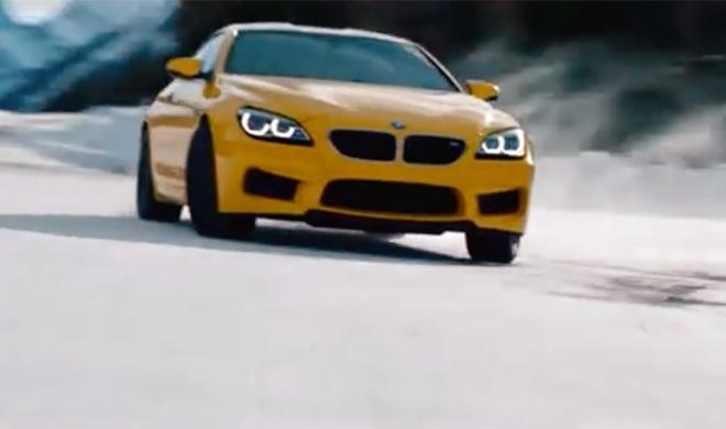 Vídeo: un BMW M6 Coupé al límite en la nieve