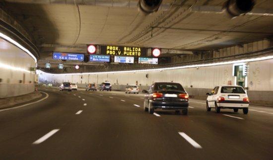 Persecución a 170 km/h por los túneles de la M-30
