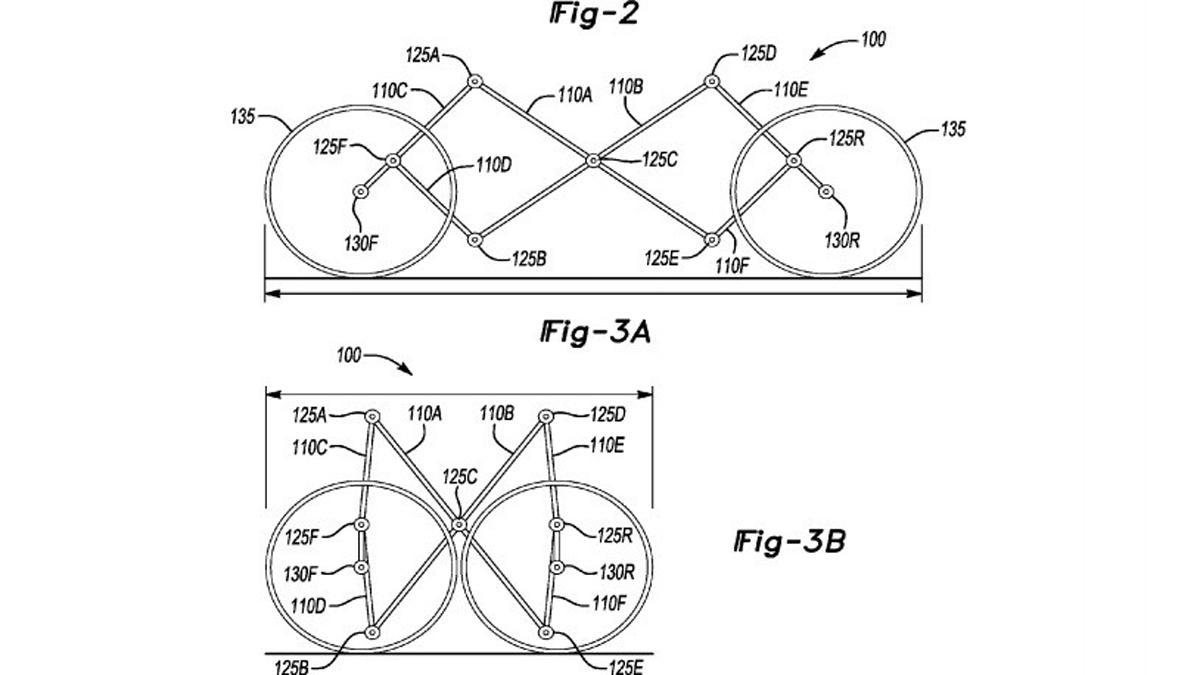 patente coche plegable de Ford