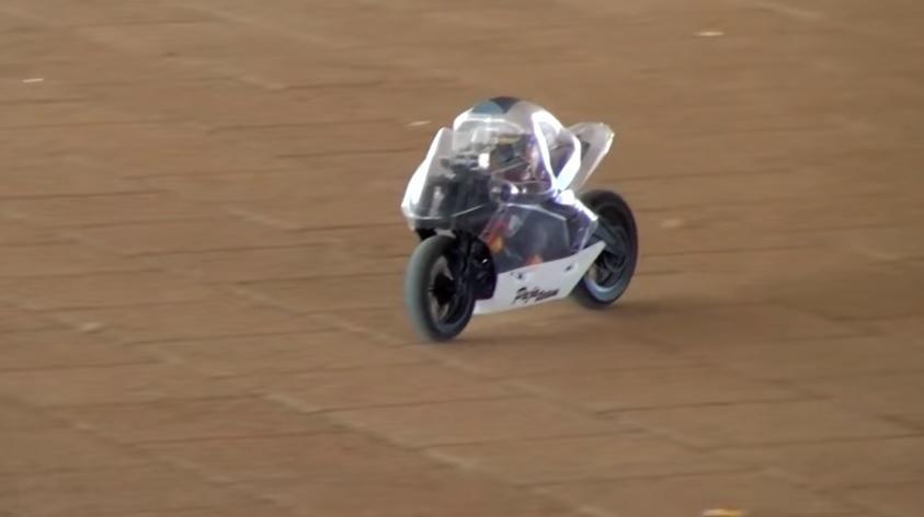 El rival del Motobot de Yamaha: pequeño pero matón
