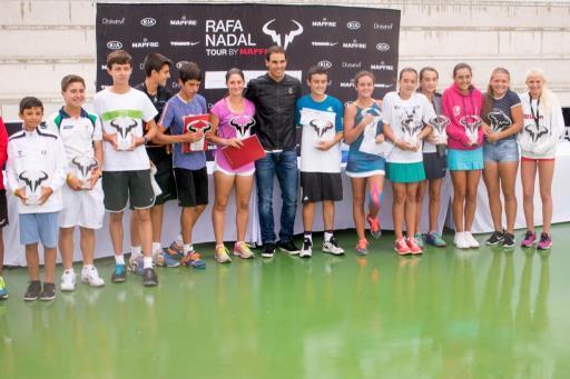 Kia, de nuevo con el 'Rafa Nadal Tour' by Mapfre