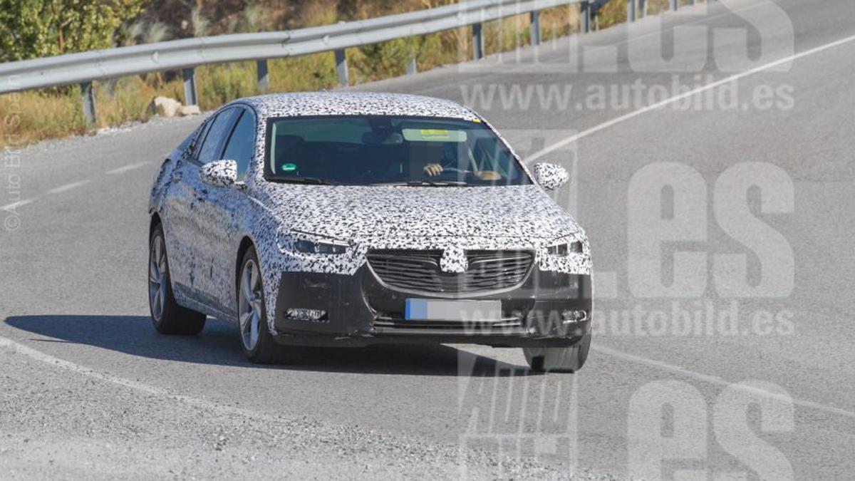 Opel Insignia 2017 fotos espía