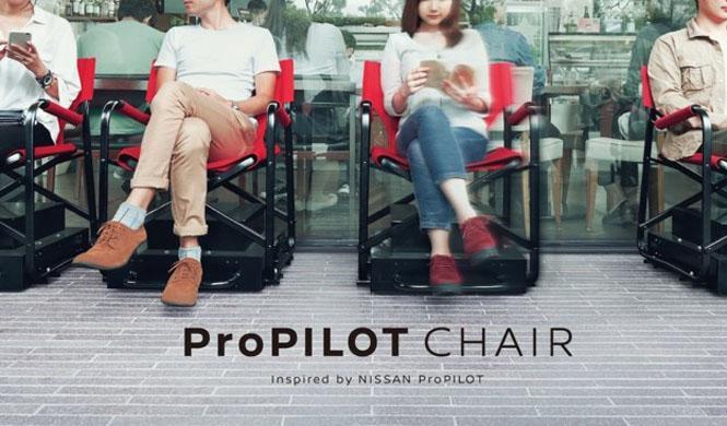 Nissan inventa las sillas que se mueven solas