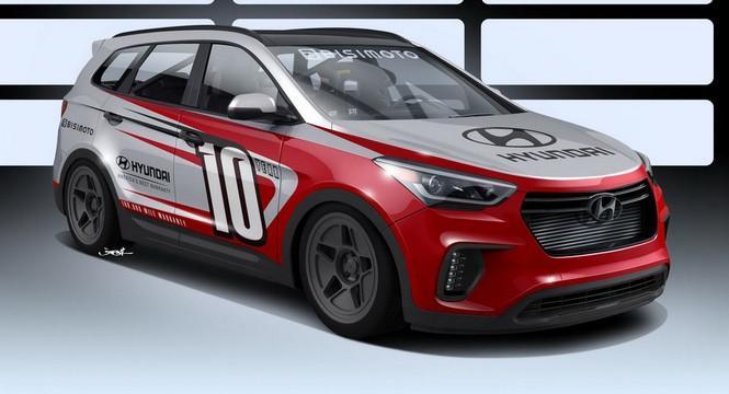 Santa-Fast, el Hyundai Santa Fe de los 1.040 CV