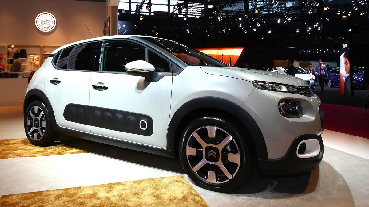 coches-más-comprables-salón-parís-2016-Citroën-C3