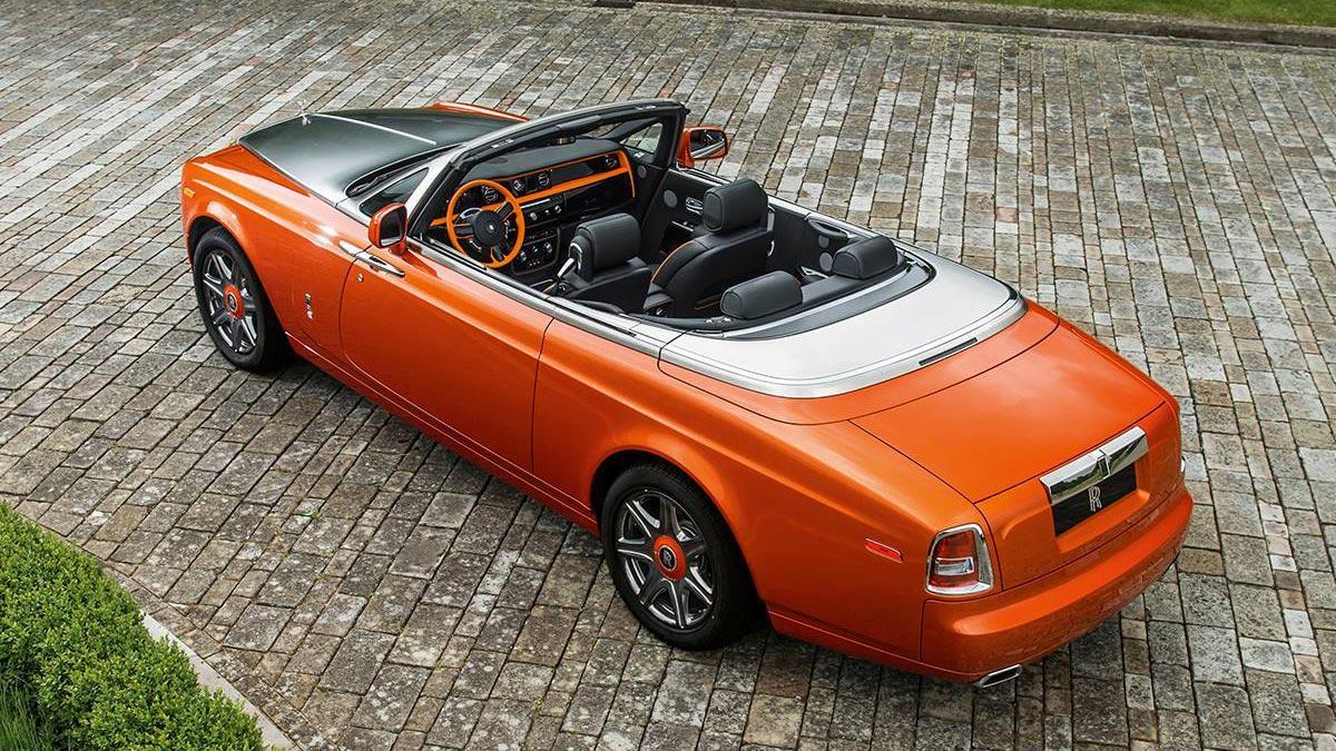 Rolls-Royce Phantom Drophead Coupé Beverly Hills Edition trasera