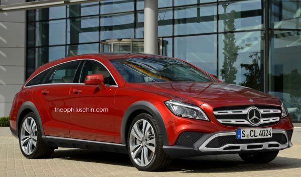 Así será el nuevo Mercedes CLS Shooting Brake All Terrain