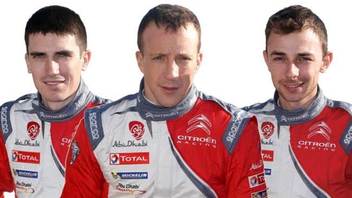 Citroën confirma su alineación de pilotos para el WRC 2017