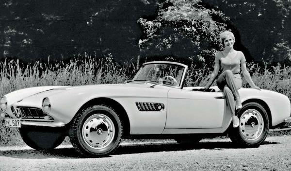 Un BMW 507 de Elvis Presley, restaurado al detalle