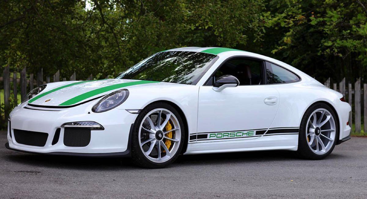 Porsche frontal