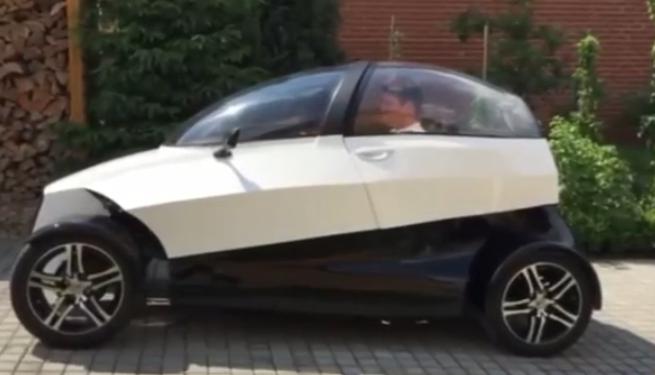 4ekolka crea un coche eléctrico ¡de impresión 3D!