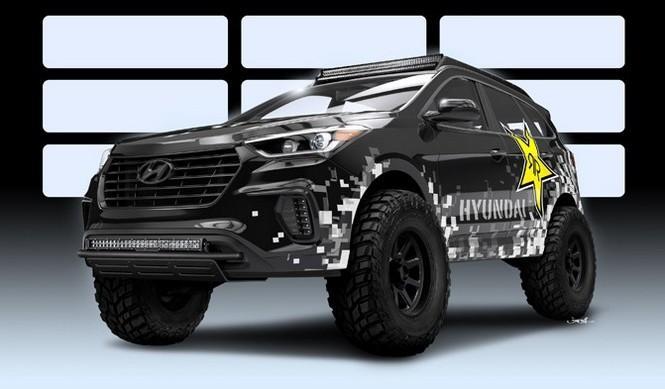 Rockstar Performance presenta este radical Hyundai Santa Fe