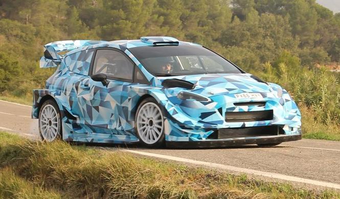 Vídeo: primeras imágenes del nuevo Ford Fiesta RS WRC 2017