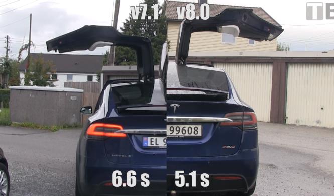 Vídeo: puertas del Tesla Model X se abren más rápido ahora