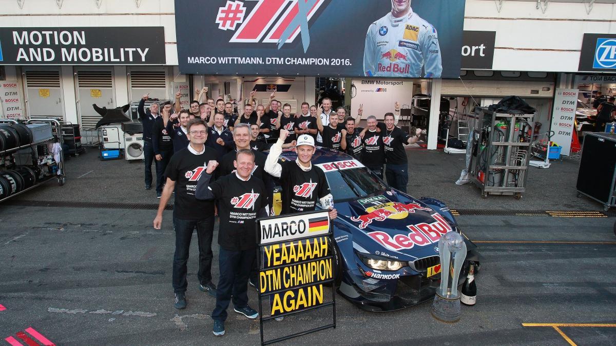 DTM 2016, Hockenheim: Wittmann y Audi se coronan