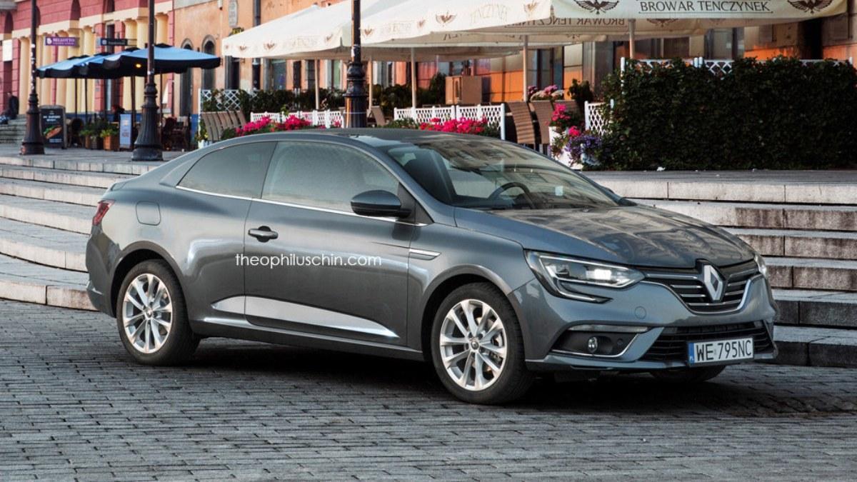Render Renault Mégane Coupé