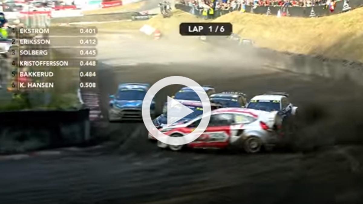 Vídeo: ¡Brutal! Este es el mejor adelantamiento del año