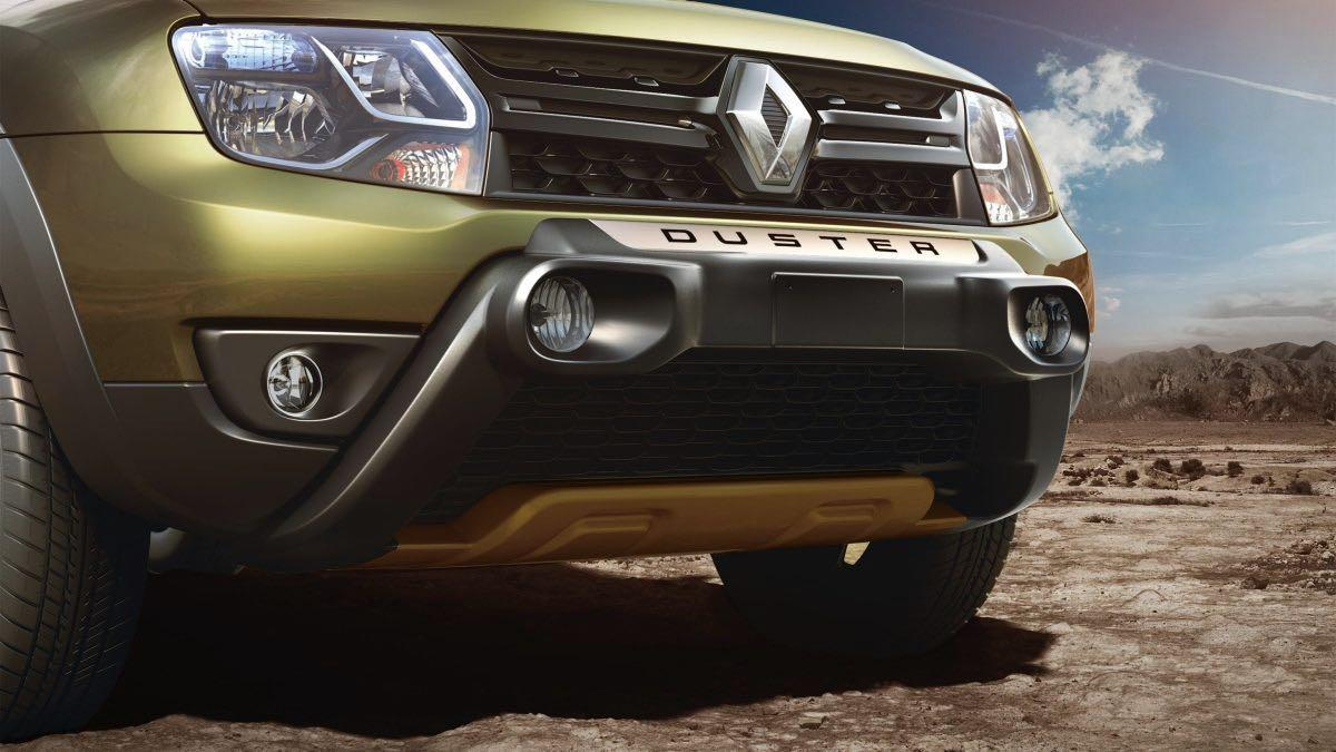 Renault Duster Adventure Edition paragolpes