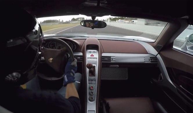 Vídeo: a bordo de un Porsche Carrera GT en Nürburgring