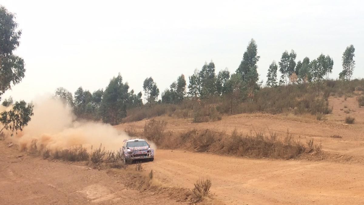 Los test del Citroën C3 WRC 2017 se han llevado a cabo en Huelva.