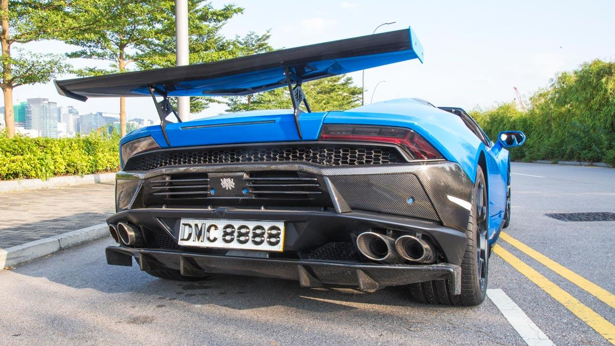 Lamborghini Huracan DMC LP1088 E-GT Spyder trasera