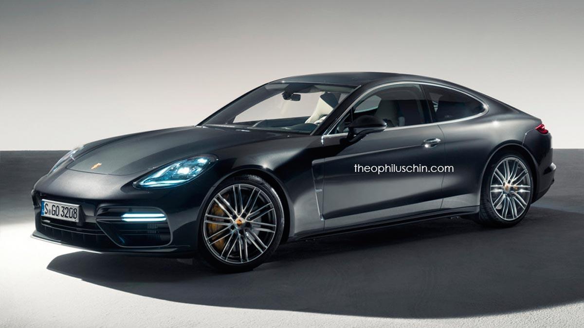 Porsche Panamera Coupé: muy prometedor, poco probable