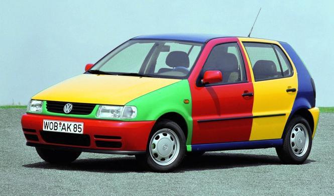 Los colores de coches que más se venden en España