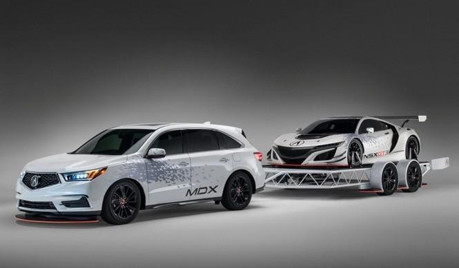 Acura NSX GT3 SEMA Show 2016