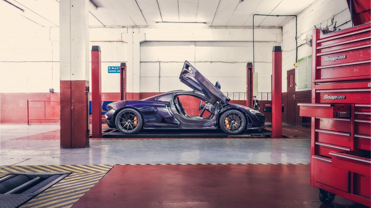 ITV de un McLaren P1 (I)