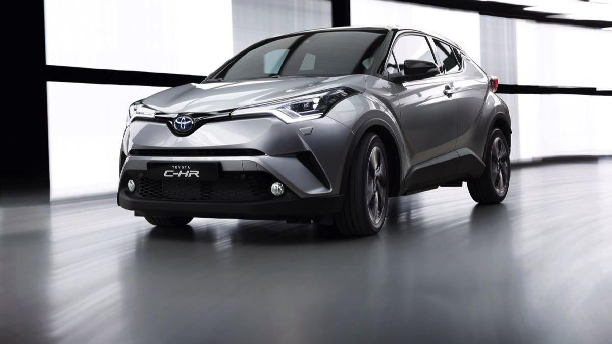 Toyota C-HR 2016 dinamica