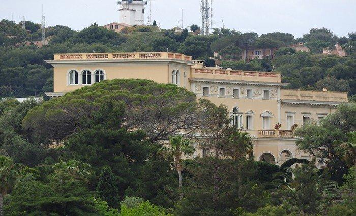 La villa del rey Leopoldo II