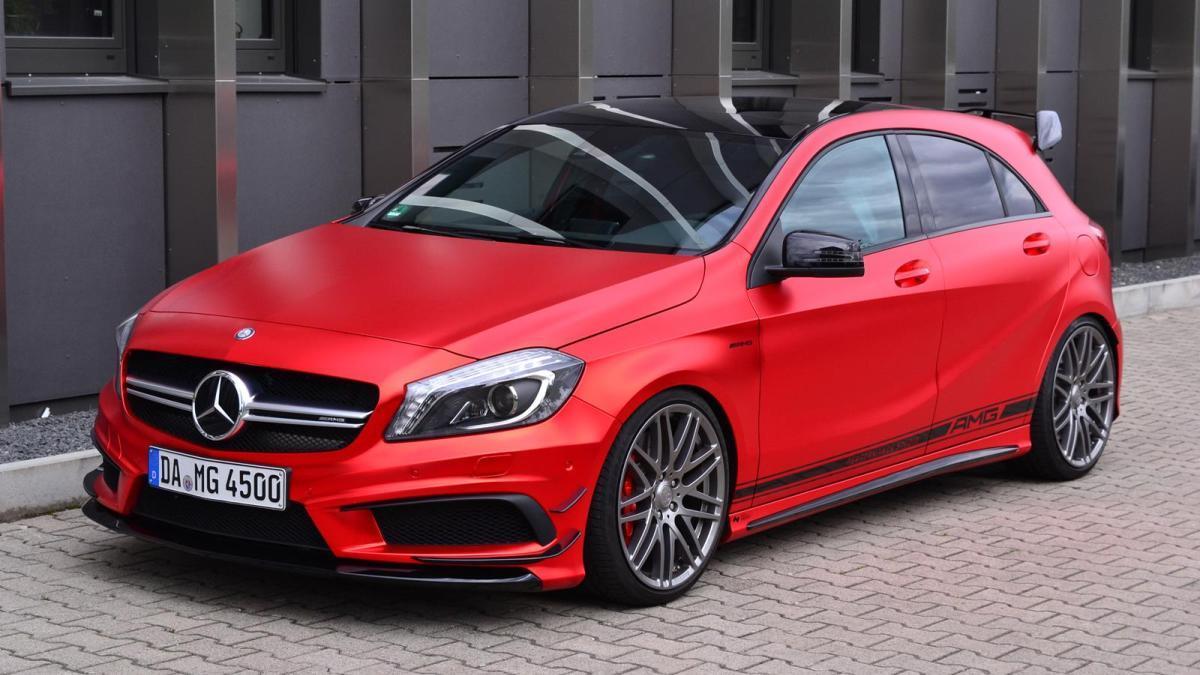 ¿Es este un Mercedes A45 AMG todavía más radical?