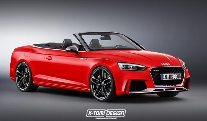 Así podría ser el nuevo Audi RS 5 Cabrio