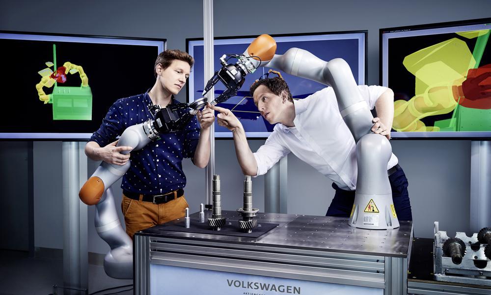 robot inteligente volkswagen