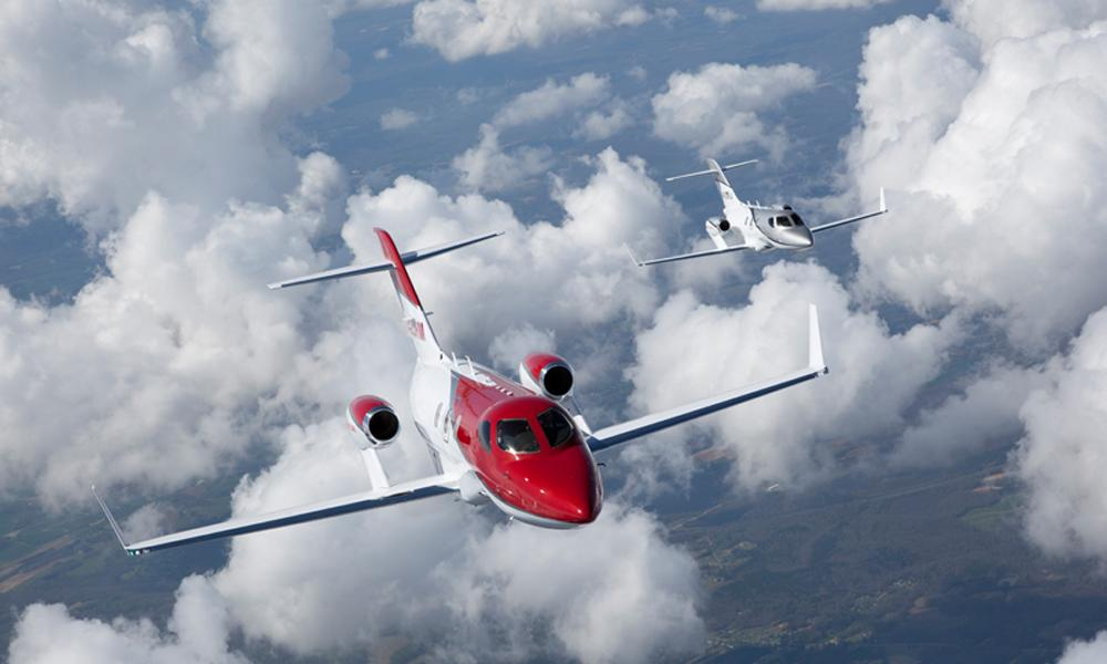 El HondaJet consigue dos récords de velocidad