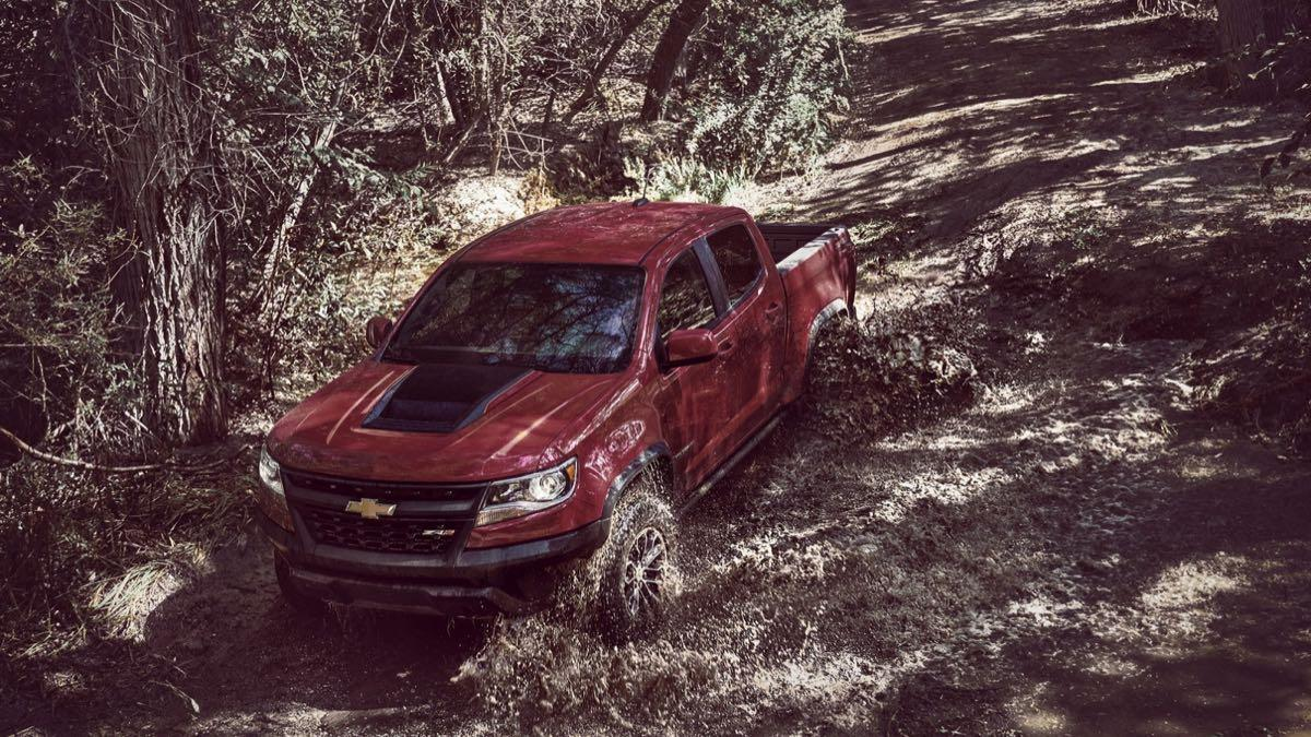 Chevrolet Colorado ZR2 dinamica 3