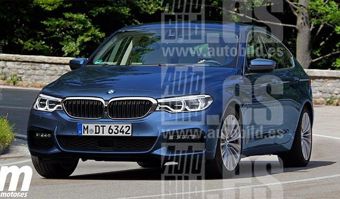 El BMW Serie 6 GT 2017 llegará a los 465 CV