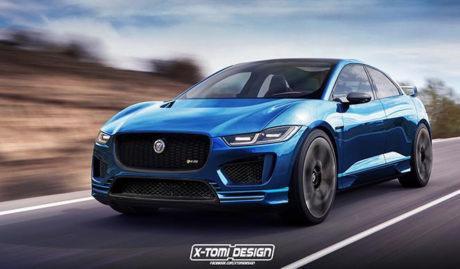 Así podría ser el Jaguar i-Pace R-S: tiembla, Tesla Model X