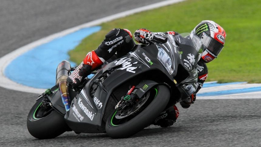 Jonathan Rea, por delante de 14 pilotos de MotoGP en Jerez