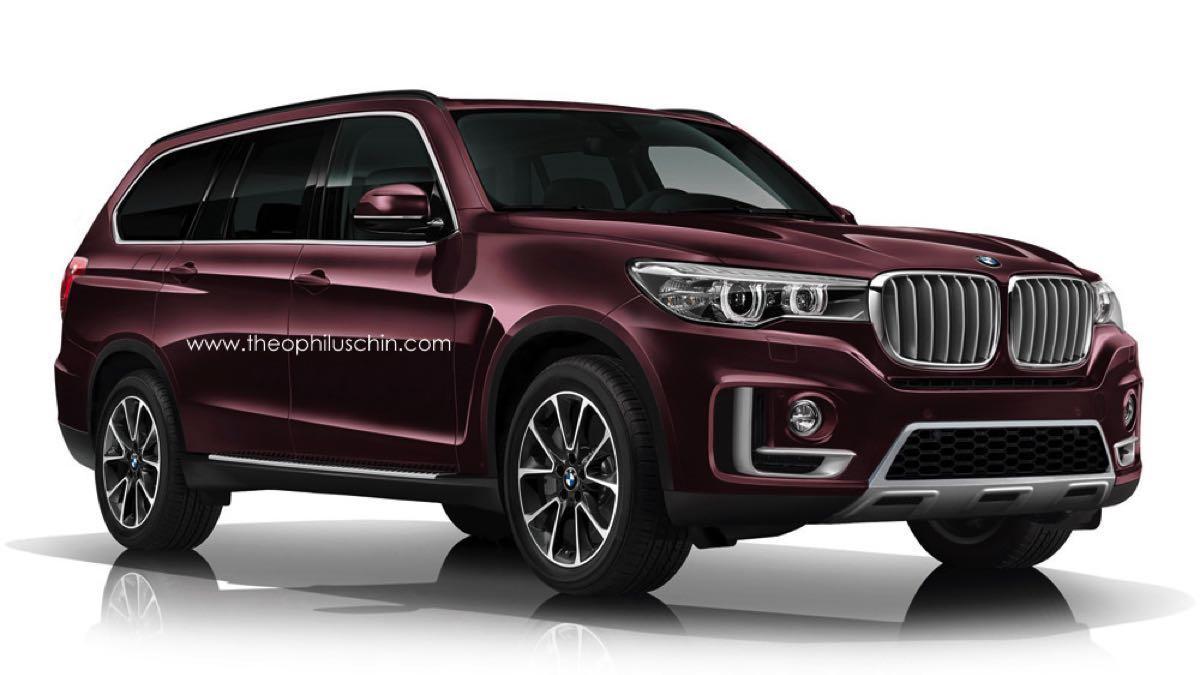 BMW X7 render