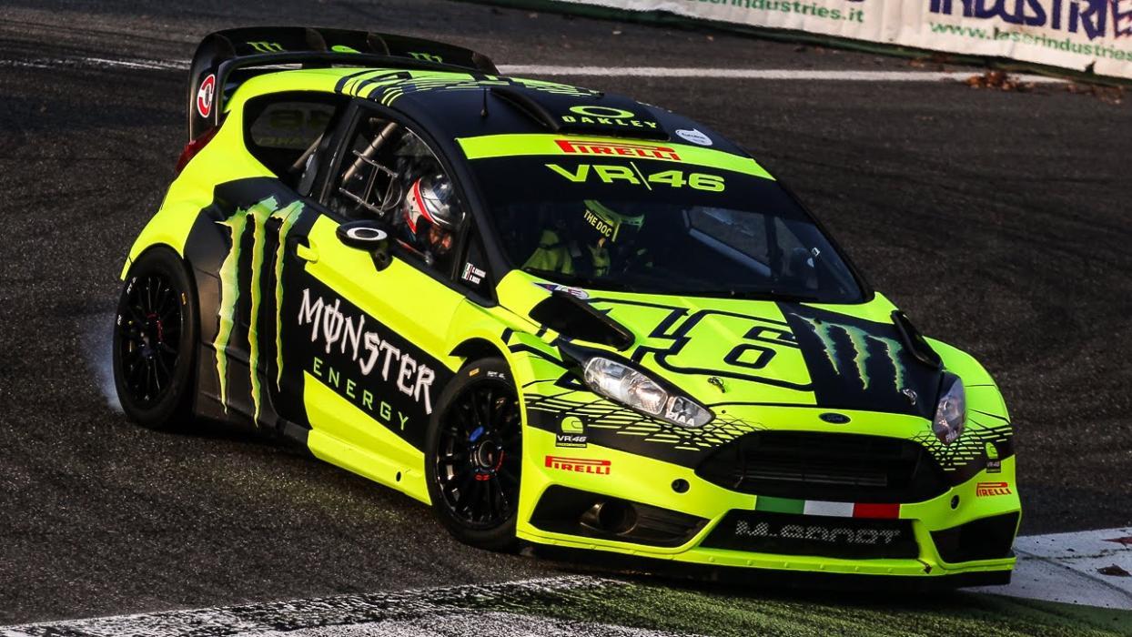 Monza Rally Show 2016: Valentino Rossi contra Dani Sordo