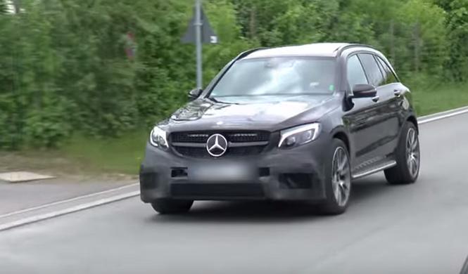 Mercedes-AMG GLC 63: cazado otra vez... ¡llegará pronto!