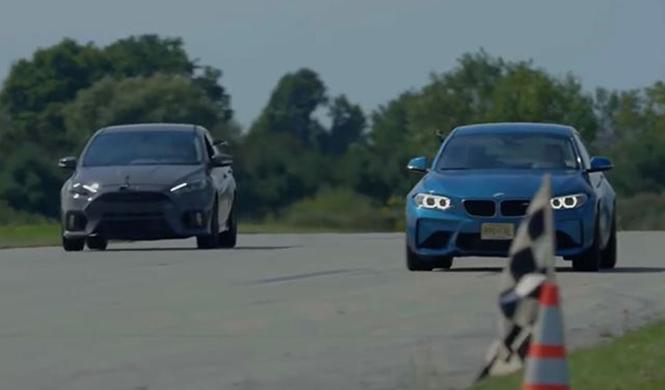 BMW M2 y Ford Focus RS, ¿cuál acelera más?