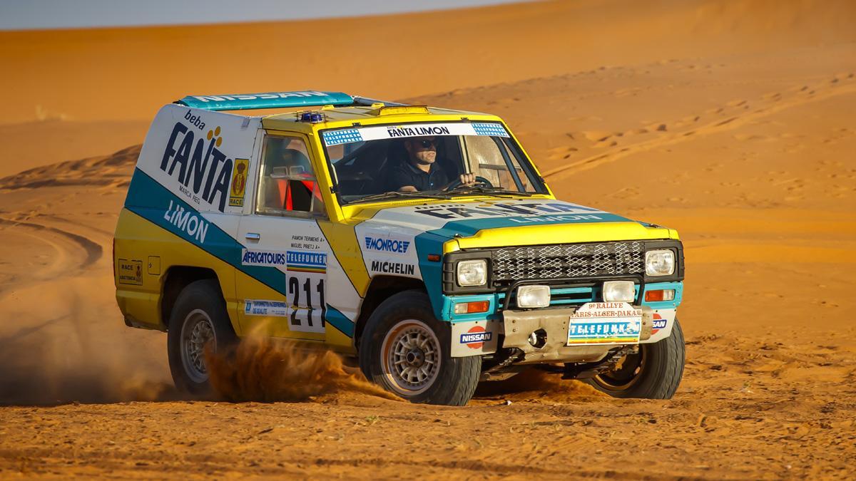 Nissan Patrol Fanta Limón París Dakar 1987