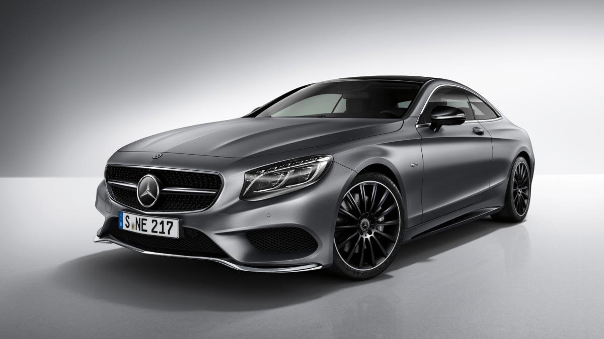 Mercedes Clase S Coupe Night Edition
